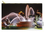 J.c. Nichols Memorial Fountain - Night Carry-all Pouch