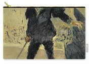 Jean Baptiste Faure In The Opera Hamlet By Ambroise Thomas Carry-all Pouch