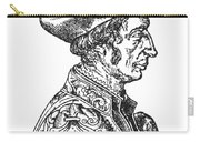 Jean Fernel (1497-1558) Carry-all Pouch