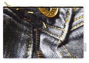 Jeans - Abstract Carry-all Pouch