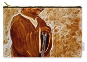 Jedi Master Yoda Digital From Original Coffee Painting Carry-all Pouch