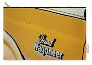 Jeep Grand Wagoneer Side Emblem Carry-all Pouch