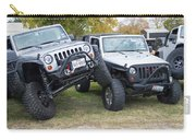 Jeeps In Juxtaposition Carry-all Pouch