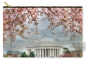 Jefferson Blossoms Carry-all Pouch