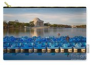 Jefferson Memorial And Paddle Boats Carry-all Pouch
