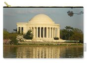 Jefferson Memorial At Sunset Carry-all Pouch