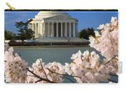 Jefferson Memorial Cherry Trees Carry-all Pouch