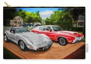 Jeffs Cars Corvette And 442 Olds Carry-all Pouch
