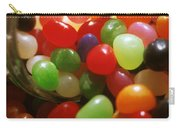 Jelly Beans Spilling Out Of Glass Jar Carry-all Pouch