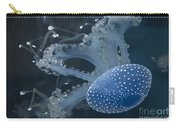 Jellyfish In Blue Carry-all Pouch