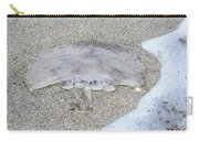 Jellyfish On The Sand Carry-all Pouch