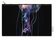 Jellyfish  Pelagia Noctiluca  With Fish Carry-all Pouch