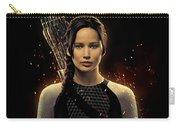 Jennifer Lawrence As Katniss Everdeen Carry-all Pouch