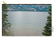Jenny Lake In Grand Tetons National Park-wyoming  Carry-all Pouch