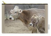 Jersey Cow And Calf Carry-all Pouch