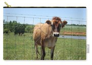 Jersey Cow In Georgia Carry-all Pouch