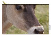 Jersey Cow Portrait Carry-all Pouch