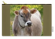 Jersey Cow With Attitude - Vertical Carry-all Pouch