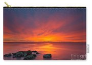 Jersey Shores Fire In The Sky Version 2 Carry-all Pouch