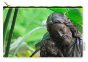 Jesus And Child Statute Carry-all Pouch