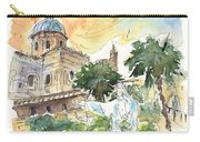Jesus By Palermo Cathedral Carry-all Pouch