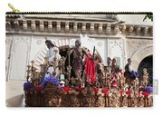 Jesus Christ And Roman Soldiers On Procession Carry-all Pouch