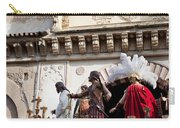 Jesus Christ And Roman Soldiers On Procession Platform Carry-all Pouch
