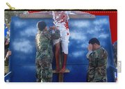 Jesus Christ Float 60th Anniversary Of The Landing On Iwo Jima In Ww2 Sacaton Arizona 2005 Carry-all Pouch