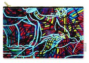 Jesus Christ - King Of Peace Carry-all Pouch by Gloria Ssali