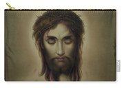 Jesus Christus Portrait By Martie Circa 1876 Carry-all Pouch
