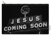 Jesus Coming Soon Carry-all Pouch
