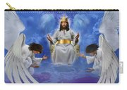 Jesus Enthroned Carry-all Pouch by Tamer and Cindy Elsharouni