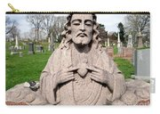 Jesus In Granite Carry-all Pouch