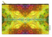Jesus Quote On Judgement Carry-all Pouch