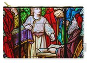 Jesus Teaches In The Temple Carry-all Pouch