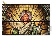 Jesus - The Light Of The Wold Carry-all Pouch
