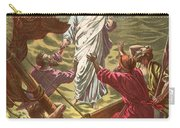Jesus Walking On The Water Carry-all Pouch