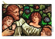Jesus With Children Carry-all Pouch