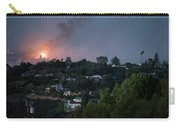 Jesusita Wildfire Burn In The Distance Carry-all Pouch