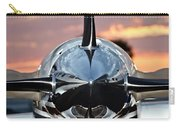 Airplane At Sunset Carry-all Pouch