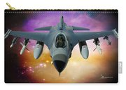 Jet Fighter Aircraft F-16 Falcon Aircraft  Carry-all Pouch
