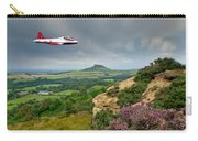 Jet Provost Over The Cleveland Hills Carry-all Pouch