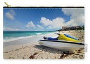 Jet Ski On The Beach At Atlantis Resort Carry-all Pouch