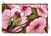 Jewel Among Blooms Carry-all Pouch