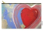 Jewel Heart Carry-all Pouch