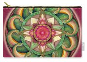 Jewel Of The Heart Mandala Carry-all Pouch