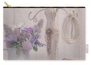 Jewellery And Pearls Carry-all Pouch by Amanda Elwell