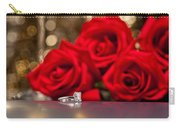Jewelry And Roses Carry-all Pouch