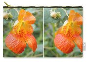 Jewelweed Flower In Stereo Carry-all Pouch