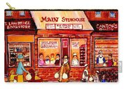 Jewish Montreal Vintage City Scenes Cantor's Bakery Carry-all Pouch